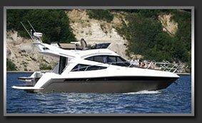 Моторная яхта с флайбриджем Galeon 340 Fly