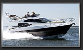 Моторная яхта с флайбриджем Galeon 380 Fly