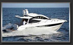Моторная яхта с хард топом Galeon 390 HTS