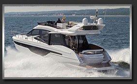 Моторная яхта с флайбриджем Galeon 500/510