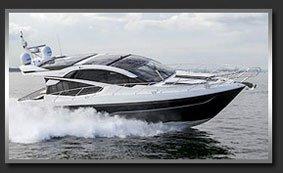 Моторная яхта с флайбриджем Galeon 560