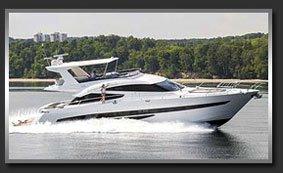 Моторная яхта с флайбриджем Galeon 660 Fly