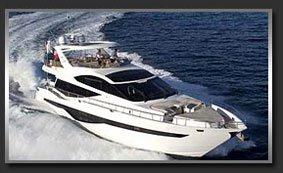 Моторная яхта с флайбриджем Galeon 780 Crystal